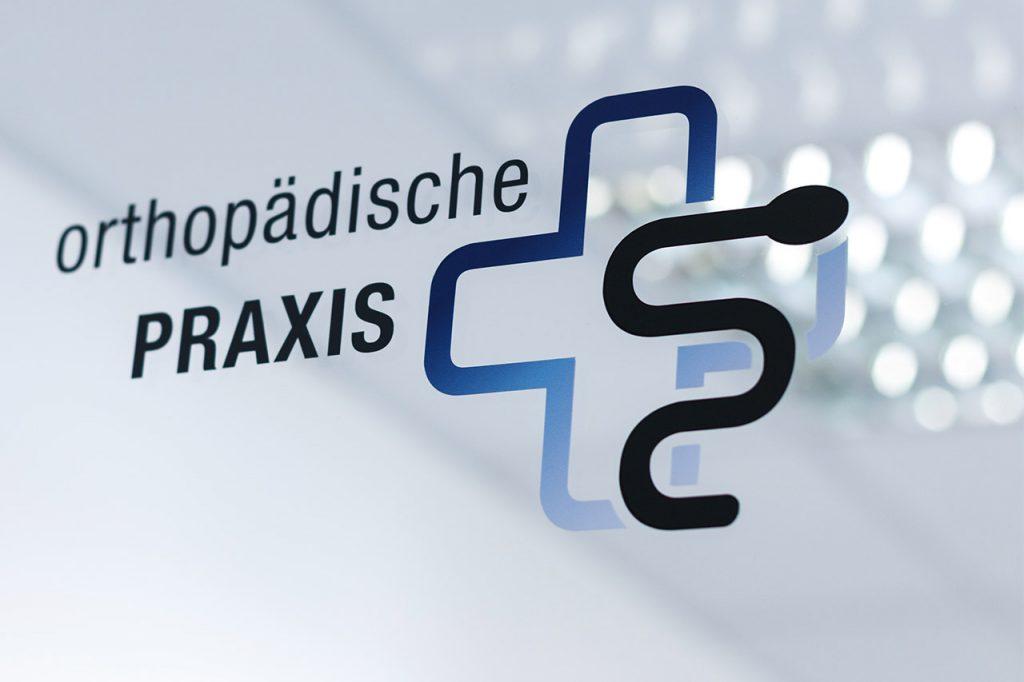 Praxisschild | Orthopädische Praxis Dr. Constantin Moor